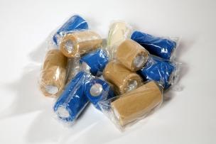 Cohesive Bandages Blue HACCP