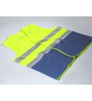 Security Vests EN471 BHV Yellow-Blue